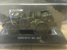 "DIE CAST "" DODGE WC 57 - U.S. - 1944 "" MEZZI MILITARI DEAGOSTINI 1/43"