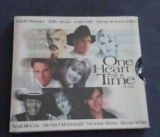 OLIVIA NEWTON-JOHN GARTH BROOKS FAITH HILL CD SINGLE - ONE HEART AT A TIME
