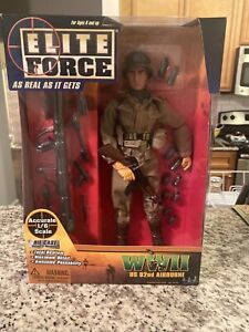 """Elite Force WWII 1/6 12"""" Figure WWII 82nd Airborne US!"""
