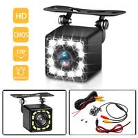 170° Car Rear View LED Backup Camera Parking Reverse HD Night Vision Waterproof