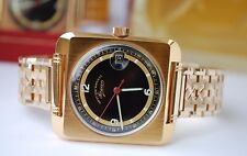 WEST END WATCH CO. SOWAN GENTS GOLD PLATED VINTAGE WATCH IN BOX-NEW OLD STOCK!