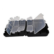 Tool Box Fishing Tackle Bait Double Side Storage Box Small Fishing Accessories