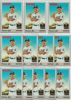 2019 Topps Heritage High Number Connor Joe (12) Card Rookie Lot #602 Dodgers RC