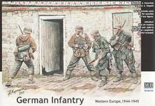 Infantería alemana 44/45 (con Gewehr 43, MP-42, KAR-98K & Panzerfaust) 1/35 Masterbox