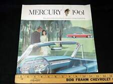 1961 Mercury Monterey, Colony Park Car Sales Brochure (CDN)