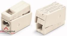 Lot de 100 bornes automático 2 entradas rígido-1 flexible Wago 224112
