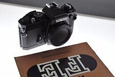 Nikon FE professionale fotocamera Reflex in nero. EXC + + Condizione superba qualità Nikon.