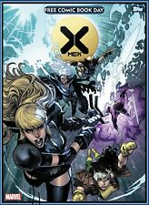 Topps Marvel Collect FREE COMIC BOOK DAY STATIC CARD; X-MEN