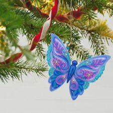Brilliant Butterflies 2017 Hallmark Ornament 1st  Monarch  Flowers
