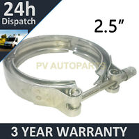 "V-BAND OUTER CLAMP STAINLESS STEEL EXHAUST TURBO HOSE RADIATOR 2.5"" 63.5mm"