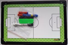 Diamond Football Tactic Board -  Magnetic Counters Wipeable 45 x 30cm Coaches
