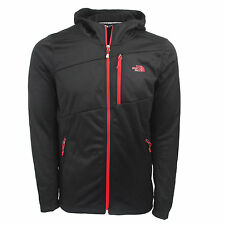 THE NORTH FACE New Cheap SALE 100 Cinder Full Zip Hoodie Jacket Coat Black Red M