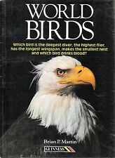 World Birds, Martin, Brian P., Used; Good Book