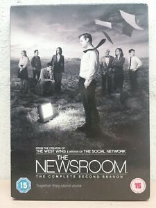 Newsroom Season 2 Two DVD - ALMOST 8 HOURS - Complete Second Series