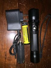 Ultraviolet Rock 365nm UV Flashlight LED Yooperlite, + 18650 Battery / Charger,