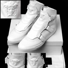 GIANNI VERSACE Men's MEDUSA LEATHER SNEAKERS w/ Certificate, Box & Bag (44 / 11)