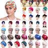 Damen Drucken Turban Hut Mütze Kopftuch Perücke Kopfbedeckung Chemo Bandana Cap