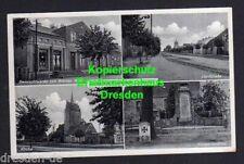116835 AK Barenthin Ostprignitz 1942 Gemischtwaren Werner Wolf Kirche Kriegerden