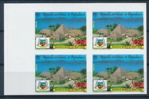 [I1190] New-Caledonia 1987 good bloc of 4 stamps very fine MNH imperf