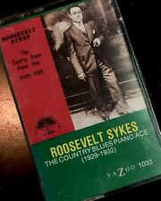 ROOSEVELT SYKES The Country Blues Piano Ace 1929-1932 Cassette NEW SEALED