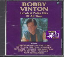 "BOBBY VINTON  ""Greatest Polka Hits Of All Time""  NEW SEALED POLKA CD"