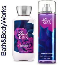 *NEW* Bath and Body Works Dark Kiss 2 Piece Set: Fine Mist, Body Lotion.