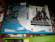 Metal Gear Solid 2: Substance (Xbox) Xbox original xbox only