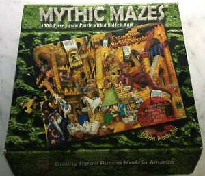 ESCAPE FROM MERLIN'S DUNGEON, Mythic Mazes 1000-Piece Puzzle by MasterPieces