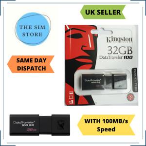 Kingston USB 3.0 Flash Drive 32GB Stick Pen Data Traveler G3 Memory PenDrive