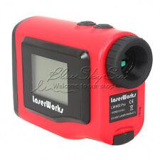 600m Red Laser Range Finder Distance Speed Measuring Outdoor For Golf Hunting SP