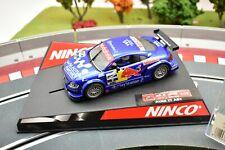 """NINCO 1/32 SLOT CARS 50267 AUDI TT-R """"RED BULL"""""""
