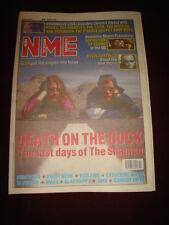NME 1991 JUNE 8 SHAMEN PIXIES HAPPY MONDAYS FARM MISSION VAN MORRISON POGUES OMD