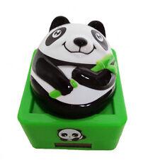 statuette panda solaire porte bonheur