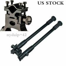 "8""-10""Spring Return Legs Bipod Foldable&Barrel adapter Mount Metal F Rifle Hunt"