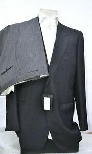 New Sartoria Castangia luxury suit ceremony wool 1btn sz it 54 us 44