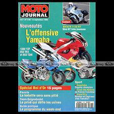 MOTO JOURNAL N°1196 MUZ SKORPION BMW R1100 RT YAMAHA TDM TRX 850 YZF 1000 R 1995