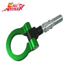 GREEN FRONT ALUMINUM RACING TOW HOOK FOR HONDA CIVIC TYPE R FN2 2.0