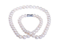 "HUGE NATURAL 18""11-12MM SOUTH SEA GENUINE WHITE PEARL NECKLACE"