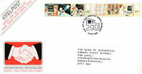 8 SEPTEMBER 1982 INFORMATION TECHNOLOGY ROYAL MAIL FIRST DAY COVER BUREAU SHS