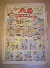 MAGAZINE L'AS N° 59 / 15 MAI 1938 / SPOOKY / TARZAN / BON ETAT