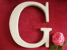 "Fassaden - Buchstaben "" G "" - Namen - Inizialen aus Beton  - Stuck Aussenfassade"