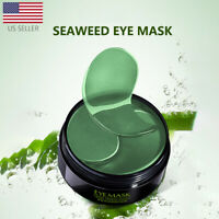 Seaweed Hydrogel Eye Patches Collagen Eye Mask for Puffy Dry Eyes Dark Circles