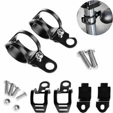 2x Durable 28-41mm Fork Clamp Motorcycle Turn Signal Light Mount Bracket Holders