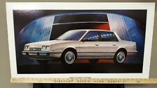 1983 CELEBRITY Sedan - GM Dealer Issue Board Poster/Sign - US