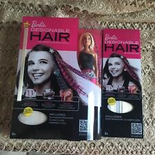New Barbie Designable Hair Extensions Doll With Extra Pack Of Hair Extensions