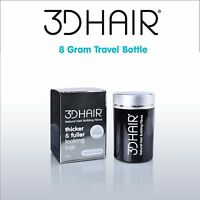 3D Hair Loss Fibres For Thinning Hair Sizes Available 8g 10g 16g 25g 35g  3DHair