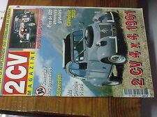 7µ?§ Revue 2CV Magazine n°30 2CV 4X4 Croisillon de cardan