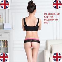 Lace Floral Thongs G-string Panties Briefs Lingerie Underwear UK Lady Low-waist