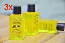 3x FAST WHITENING BODY SERUM AHA BRIGHTENING SKIN MIXED VITAMINS C&B 30ml