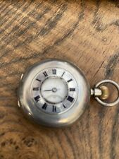 Benson, London Silver Pocket Watch Antique Half Hunter J. W.